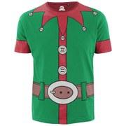 Xplicit Men's Santa Suit Christmas T-Shirt - Jolly Green