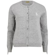 Peter Jensen Women's Raw Edge Cardigan - Grey Marl