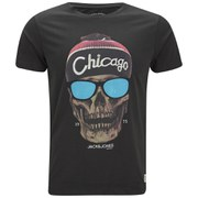 Jack & Jones Men's Skunny T-Shirt - Pirate Black