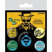 Breaking Bad Heisenberg Flask - Badge Pack