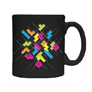 Tetris Abstract Mug