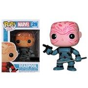 Marvel Deadpool X-Force Unmasked Exclusive Pop! Vinyl Figure