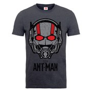 Marvel Men's Ant Man Helmet T-Shirt - Dark Heather