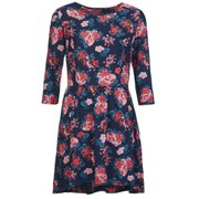 Superdry Women's Fall Print Tunic Dress - Speckled Bloom
