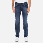 Tommy Hilfiger Men's Denton Straight Leg Denim Jean - Middle Blue