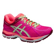 Asics Women's Gel Cumulus 17 Running Shoes - Pink Glow/Pistachio/Flash Coral