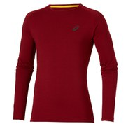 Asics Men's FujiTrail Baselayer - Deep Ruby