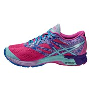 Asics Women's Gel Noosa Tri 10 Running Shoes - Pink Glow/Aqua Splash/Fuchsia