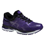 Asics Women's Gel Cumulus 17 Lite Show Running Shoes - Purple/Black