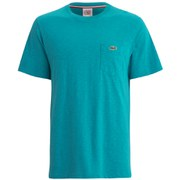 Lacoste L!ve Men's Short Sleeve Pocket Crew Neck T-Shirt - Green