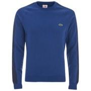 Lacoste L!ve Men's Embriodered Logo Sweatshirt - Navy