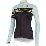 Castelli Women's Girone Long Sleeve Jersey - Black/Green