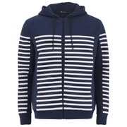 T by Alexander Wang Men's Gel Print Hoody - Lake