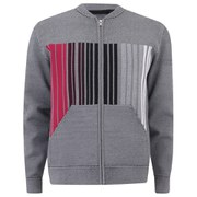 Alexander Wang Men's Barcode Zipped Bomber Jacket - Lucifer