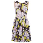French Connection Women's Botanical Trip Lace Dress - Acid Blonde Multi