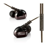 Creative Aurvana In-Ear3 Plus Noise Isolating Earphones with In-Line Mic - Brown