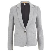 BOSS Orange Women's Tasponge Blazer - Medium Grey