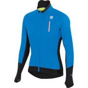 Sportful R&D Wind Long Sleeve Jersey - Electric Blue/Black