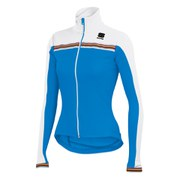 Sportful Women's Allure Long Sleeve Thermal Jersey - Electric Blue/White