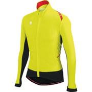 Sportful Fiandre Light Wind Long Sleeve Jersey - Yellow Fluo/Black