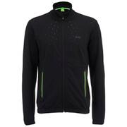 BOSS Green Men's Scartech Full Zip Funnel Neck Sweatshirt - Black