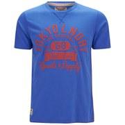 Tokyo Laundry Men's Logo T-Shirt - Ocean