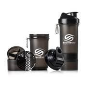 Smartshake 800ml Multi Storage Shaker Bottle - Gunsmoke/Black