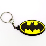 DC Comics Batman Classic Logo Rubber Key Chain