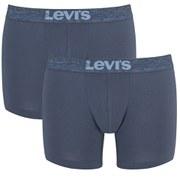 Levi's Men's 200SF 2-Pack Boxer Briefs - Light Denim