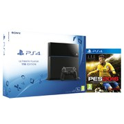 Sony PlayStation 4 1TB - Includes PES 2016
