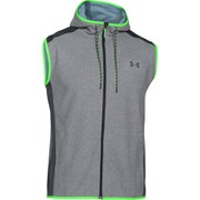 Under Armour Men's ColdGear Infrared Performance Fleece Vest Top - Steel/Grey