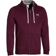 Under Armour Men's Storm Rival Full Zip Hoody - Deep Red