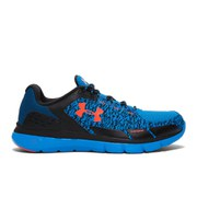 Under Armour Men's Micro G Velocity RN Storm Running Shoes - Black/Blue