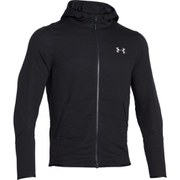 Under Armour Men's Polartec Alpha Hybrid Full Zip Hoody - Black