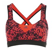 adidas Women's GT Supernova Sports Bra - Red/Black
