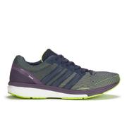 adidas Women's Adizero Boston Boost 5 Running Shoes - Yellow/Grey/Purple