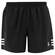 adidas Men's Response 5 Inch Running Shorts - Black/White