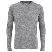 adidas Men's Supernova Long Sleeve Running Top - Grey