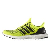 adidas Men's Ultra Boost Running Shoes - Yellow/Black
