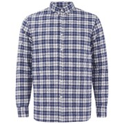 Penfield Men's Kemsey Quilted Long Sleeve Shirt - Navy