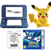 New Nintendo 3DS XL Metallic Blue + Pokémon Alpha Sapphire
