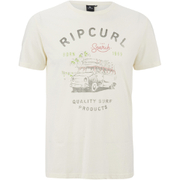 Rip Curl Men's Born in 1969 T-Shirt - Breakage White