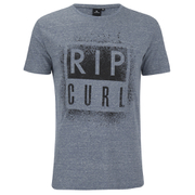 Rip Curl Men's Obvious Print T-Shirt - Ocean Marl