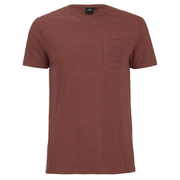 Rip Curl Men's Zinc Pocket T-Shirt - Rusty Brass Marl