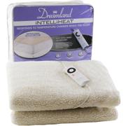 Dreamland 16212 Intelliheat Soft Fleece Electric Under Blanket - Double