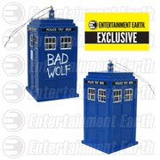 Doctor Who Bad Wolf Tardis Entertainment Earth Exclusive Christmas Ornament