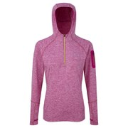 RonHill Women's Aspiration Victory Hoodie - Magenta/Fluo Yellow