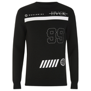 Hack Men's Vale Crew Neck Sweatshirt - Black