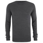 Soul Star Men's Alpha Jumper - Charcoal Melange
