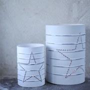 Nkuku Star Can Lantern - Small (12 x 8.5cm)